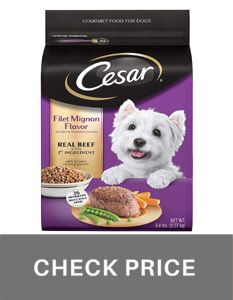 Cesar small breed dog fod